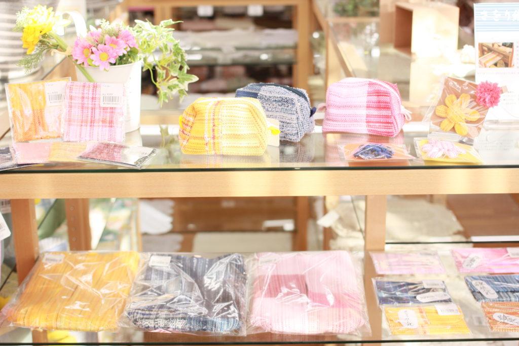 「もくせいの花」さをり織り製品のご紹介